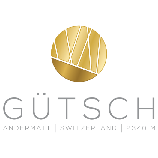 Das Logo des Bergrestaurants Gütsch Andermatt